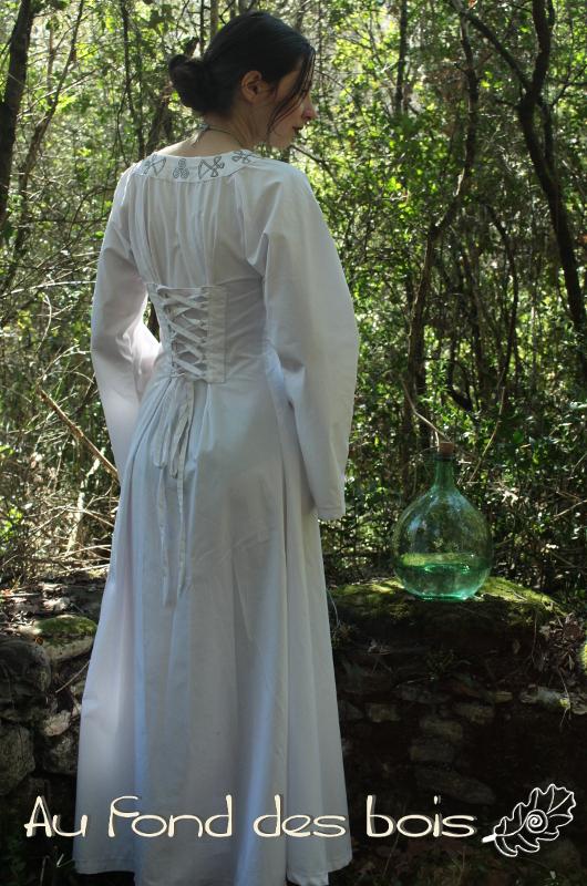 robe sylve blanche